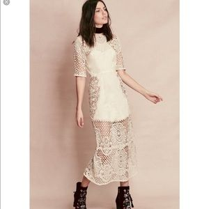 🆕 For love and lemons lace dress- size XS